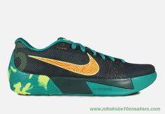 """Dark Emerald"" 653657-378 Dark Emerald/Volt-Total Orange Nike KD Trey 5 II For Cheap"