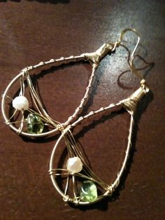 ReStrung Jewelry - made with guitar string from talented Louisiana Musicians - For Dina Jewelry Crafts, Jewelry Ideas, Guitar String Jewelry, Diy Ideas, Craft Ideas, Guitar Strings, Louisiana, Earrings Handmade, Musicians