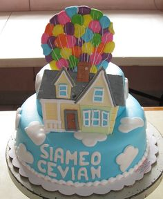 """""""up"""" Cake. Adventure is out there"""