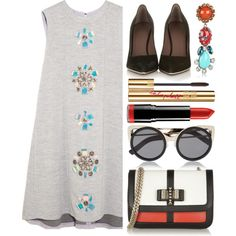 """mini dress"" by letterelle on Polyvore"