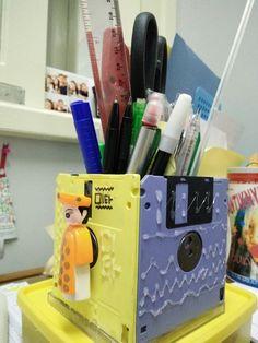 stationary organizer DIY