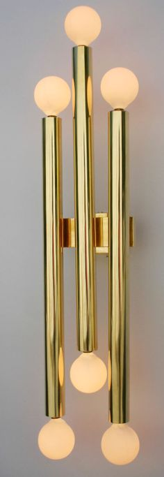 Pair Gio Ponti Sconces | From a unique collection of antique and modern wall lights and sconces at https://www.1stdibs.com/furniture/lighting/sconces-wall-lights/