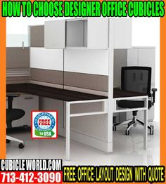 Designer Office Cubicles By Cubicleworld.Com The Leading Manufacturer Of Office Cubicles, Workstations, Chairs, Desks, Accessories & Onsite Installation.