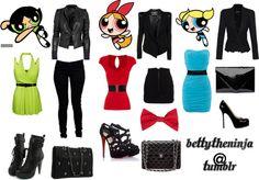 """Powerpuff Girls .."" by stylishbetty ❤ liked on Polyvore"