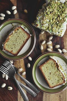 Pistachio Pound Cake | The Candid Appetite