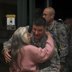 The 'Hug Lady' Has Greeted Soldiers At Airport For Over A Decade