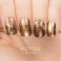 Look at this stunning mani, Just a couple of hours to go till Chinese new year!! Products used: Zodiac 22 // Ladygold Pink, Whiskey Sour, It's a Date & Gold Espresso