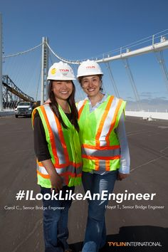 T.Y. Lin International is proud of our talented and inspiring engineers. #ILookLikeAnEngineer