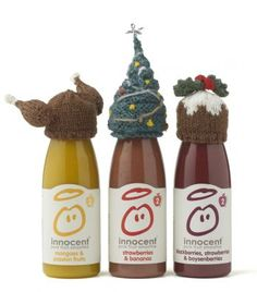Fancy a free Innocent Christmas gift? They yearly tradition of them giving away freebies to the UK is taking place for today only! Frugal Christmas, Christmas Themes, Christmas Crafts, Christmas Sweets, Christmas Stuff, Xmas, Innocent Drinks, Innocent Juice, Wooden Containers