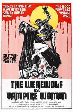 7/29/1968-The Curse of the Werewolf aka  The Werewolf vs the Vampire Women