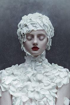 Zhang Jingna - Lily Olsen-Ecker - makeup Viktorija Bowers - photographer's assistant Ngoc Vu