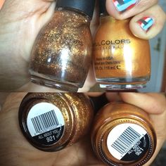 Sinful Colors All About You old vs new