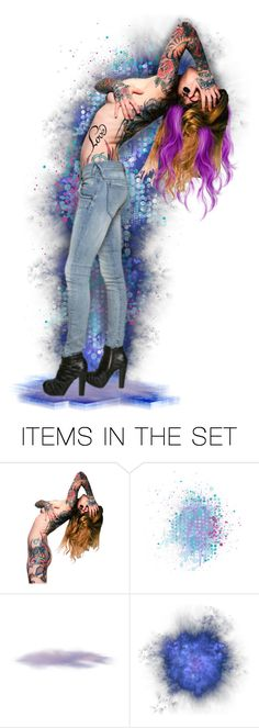 """""""Tattoos... Diva"""" by marvy1 ❤ liked on Polyvore featuring art"""