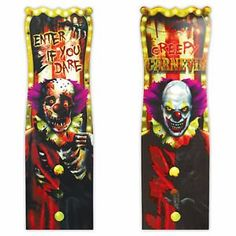 38 Halloween Creepy Carnival Circus Clown Lenticular Party Sign Decoration -- Want to know more, click on the image.