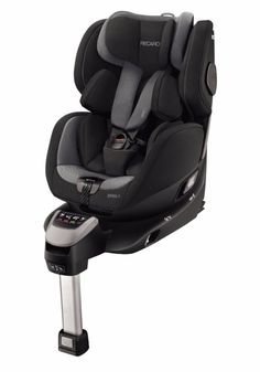 The Recaro i-Size Car Seat is a rotating isofix child safety seat that's suitable from newborn to The seat can be turned allowing you to put your child into the car easily and then move them to forward facing or rearfacing with one han Extended Rear Facing, Restaurant Chairs For Sale, Kids Seating, Carbon Black, Black Kids, Black Child, Child Safety, My Size, Black
