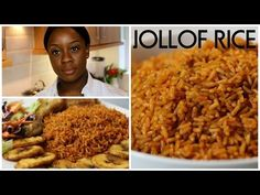 Jollof rice is the most common meal that is eaten all around Nigeria. A one-pot spicy rice dish cooked in tomato and broth. Jollof Rice Recipe Ghana, Riz Jollof, Jellof Rice, Spicy Rice, Jollof Rice Nigerian, Jollof Reis, Rice Recipes, Cooking Recipes, Ghanaian Food