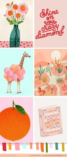 Another colour crush week! mood board, color palette