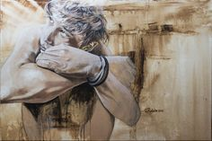 "Saatchi Online Artist Greg Riddle; Painting, ""Hope"" #art"