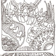 Monogram - L - Initial, Colour-Me-In Illuminated Letters, original art  drawings by melanie j cook