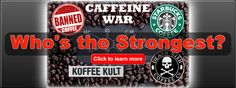 Banned Coffee uses a phenomenal blend of Extra Strong High Quality Medium to Dark Roast beans using the best Coffee Beans from the most prestigious Coffee Farms Benefits Of Drinking Coffee, Coffee Health Benefits, Coffee Farm, Coffee Uses, Dark Roast, Best Coffee, Coffee Beans, Coffee Drinks, Strong