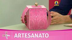 Vida com Arte | Bomboniere em cartonagem por Ane Matos - 18 de Agosto de...