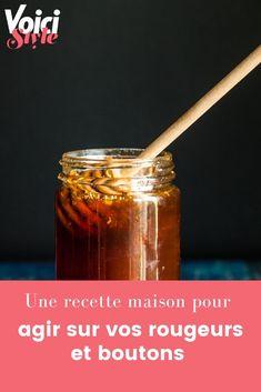 La recette sur voici.fr Voici, Honey, Diy, Food, Homemade Face Masks, Button, Home Made, Bricolage, Essen