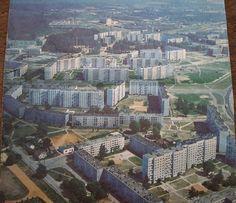 Конец 1970-х - начало 1980-х годов. Рига. Панорама Иманты (фото из архива: Виктория Корягина)...