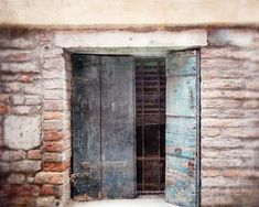 venice italy photography architecture travel photo large living room art blue decor window europe travel art distressed rustic art by eireanneilis #ILoveVeniceItaly #italyphotography