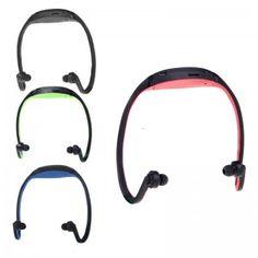 Sport MP3 WMA Music Player TF/ Micro SD Card Slot Wireless Headset Headphone Earphone
