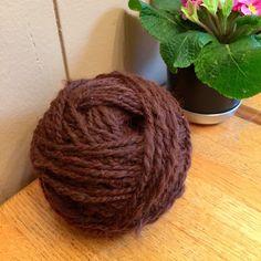 Handspun 2 ply 100% alpaca fiber