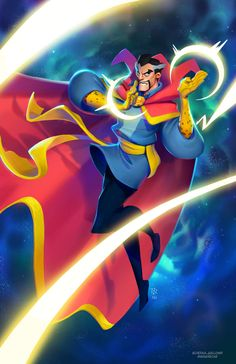Doctor Strange by Sean Galloway, colours by Max Grecke * Illustrators, Mystical Art, Comic Art, Character Design, Illustration, Max Grecke, Art, Fan Art