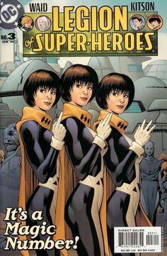 Legion of Super-Heroes #3.