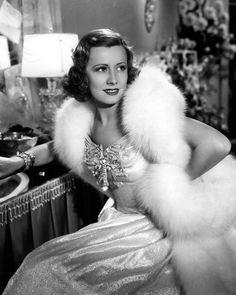 hollywood glam | Irene Dunne | Vintage Hollywood Glamour