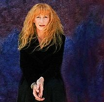"""Loreena McKennitt, Canadian (b.1957) soprano. A popular singer in the Celtic genre who has expanded into the """"World"""" category with songs of Arabesque and other styles."""