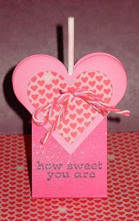 Lisa's Paper Addiction: Valentine Tootsie Pop