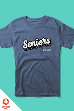 Get high marks using one of over 700 of our professionally designed school templates. Our customizable design templates make it easy to kickstart your senior 2020 class shirt idea. Yearbook Shirts, Yearbook Pages, College Shirts, Yearbook Ideas, School Shirts, Senior Class Shirts, School Template, Senior Year Of High School, Game Face