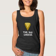Big Cheese Basic Tank Top Tank Tops