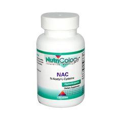 NutriCology NAC N-Acetyl-Cysteine 500 mg (1x120 Tablets)