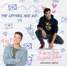 What would you do if all your secret love letters were mysteriously sent out to ALL OF YOUR CRUSHES? is finally here! Lara Jean, Love Movie, Movie Tv, Movies And Tv Shows, Movies Showing, Jenny Han, Chick Flicks, I Still Love You, Netflix Movies
