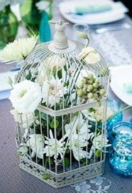 ideas how to decorate birdcage?