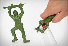 Army Man Bottle Opener from www.urbanoutfitters.com. WANT #autism #aspergers