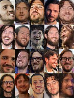 John Frusciante, Smiling Eyes, Anthony Kiedis, Concert Posters, Sexy Men, Musicians, Chili, Husband, Mirror