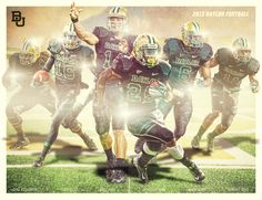 BU Football by Erik Davila, via Behance