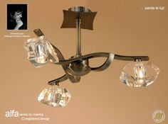 Alfa is a stylish contemporary lighting collection from Mantra Lighting The Alfa Semi Ceiling Light has an antique [… Ceiling Lamp, Ceiling Lights, Mantra, Chandelier, Contemporary, Lighting, Stylish, Antiques, Wall