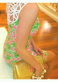 A Lilly dress is ALWAYS appropriate!