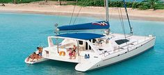Leopard catamarans Leopard 4700, 4 Cabins, 8 Berths. Available for Charter in British Virgin Islands and Grenada.