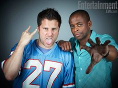 #Psych James Roday and Dule Hill at EW Comic Con Photo Booth