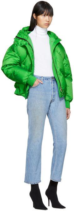 Ienki Ienki - Green Down Dunlop Short Jacket