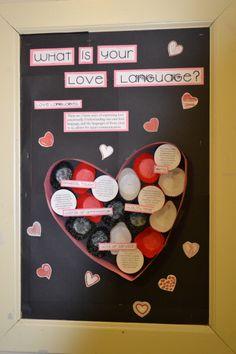 Love Languages Bulletin Board #RA