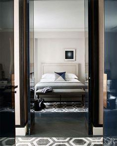 geometric rug /champeau & wilde